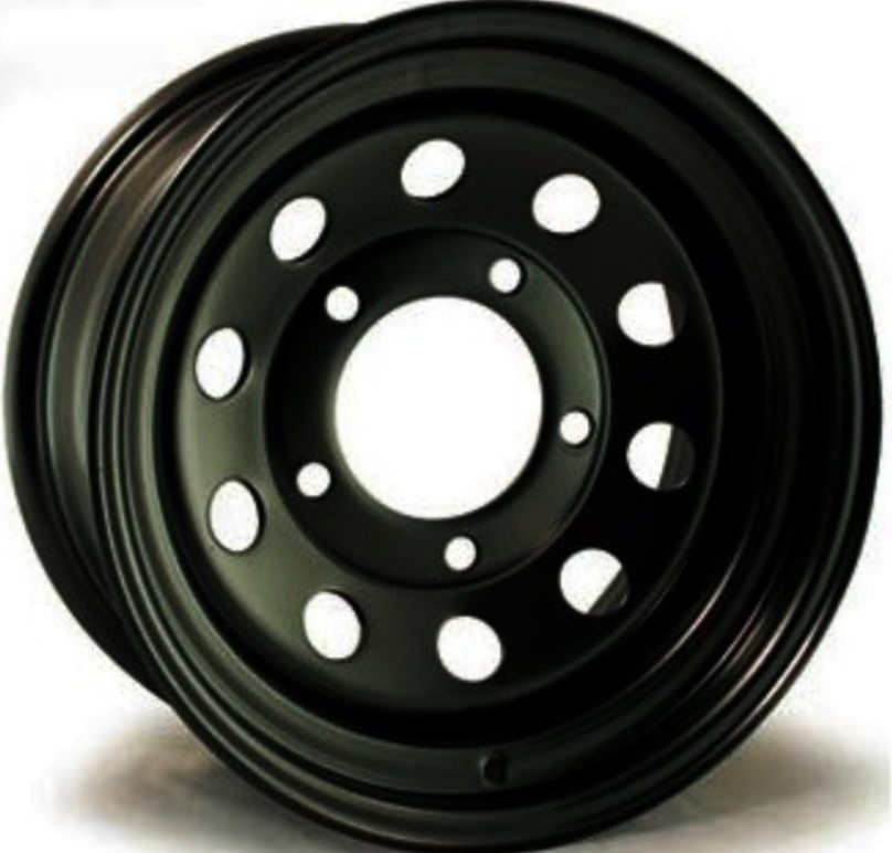 """7"""" X 16"""" MODULAR WHEEL ETO FINISHED IN BLACK's featured image"""