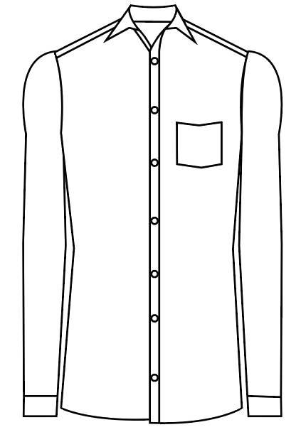 TailorMate | Skjorte med en lomme