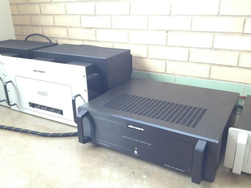 Audio Research DS450M Monoblock Power Amps