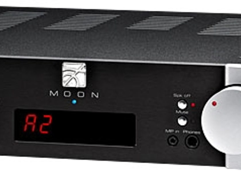 Simaudio 340i D2PX Black Open Box With Phono, D2 DAC, Balanced Inputs