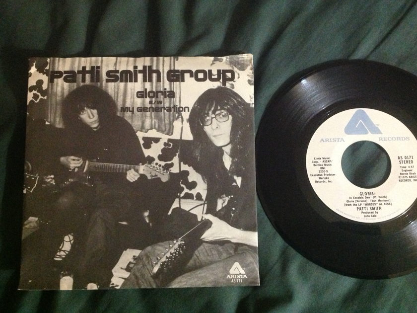 Patti Smith Group - Gloria 45 With Sleeve