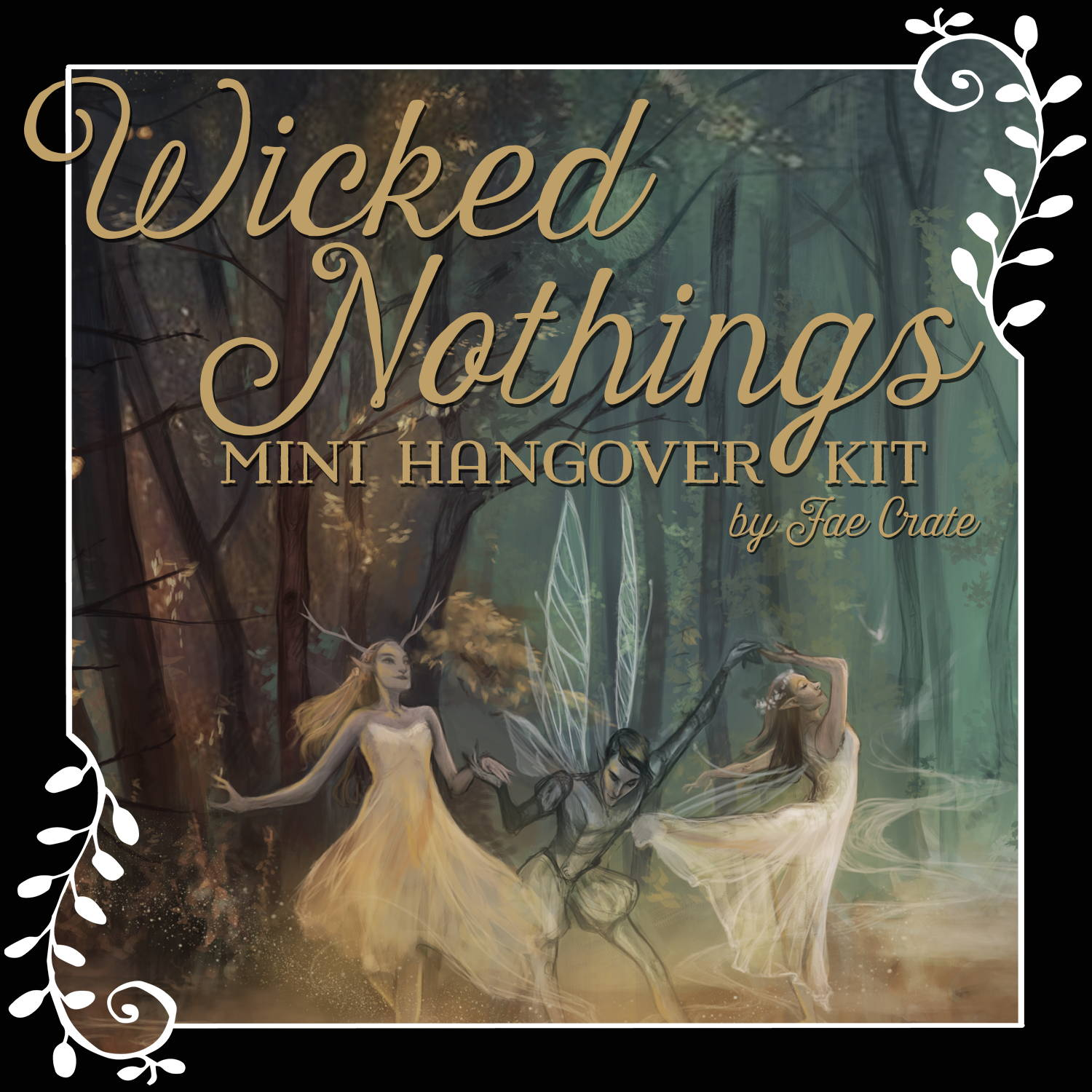 Wicked Nothings Mini Hangover Kit by Fae Crate