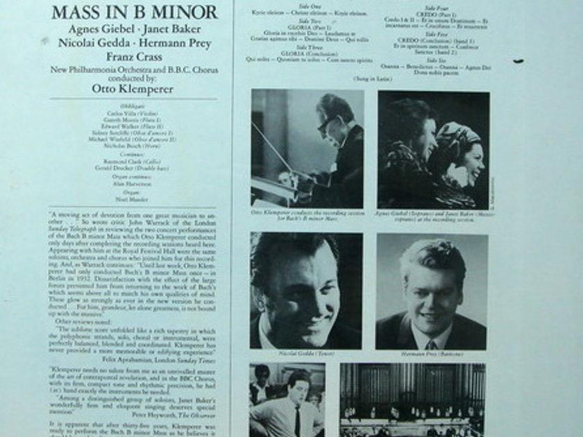 ★Sealed★ EMI Angel / KLEMPERER,  - Bach Mass in B Minor, 3LP Box Set!