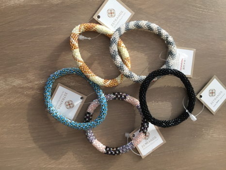 5 Beaded Bracelets by 3Strands