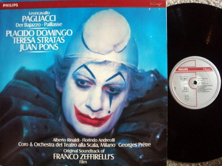 Philips Digital / ZEFFIRELLI-DOMINGO, - Leoncavallo Pagliacci, NM, 2 LP Set!