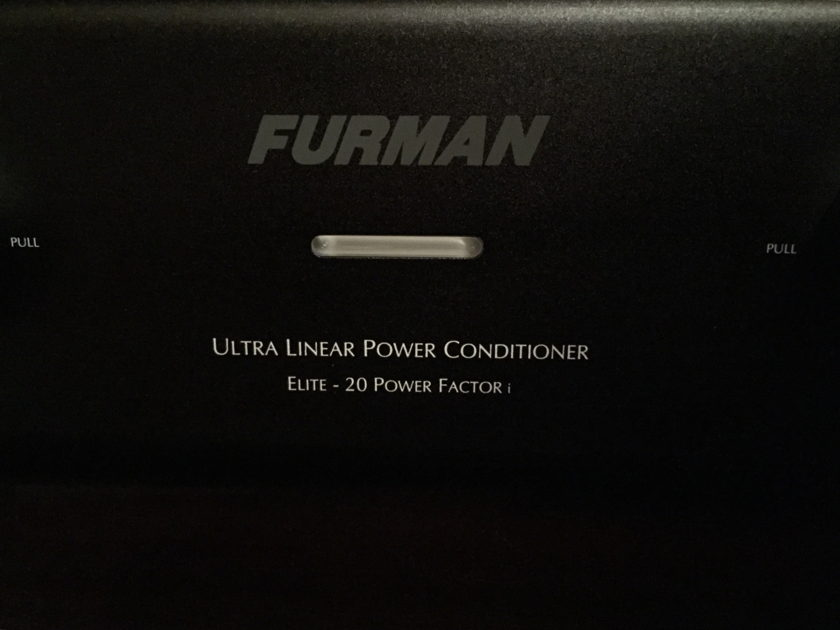 Furman Sound Elite 20 PFi Ultra-linear AC Power Conditioner REDUCED!