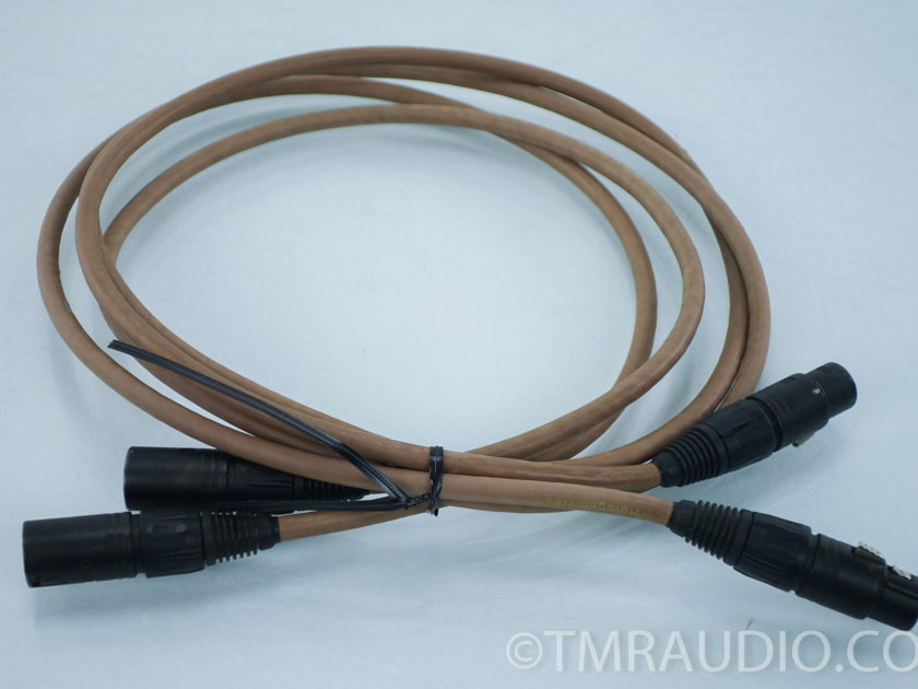 Van Den Hul THE SECOND XLR Cables; 1.5m Pair Interconnects (7980)