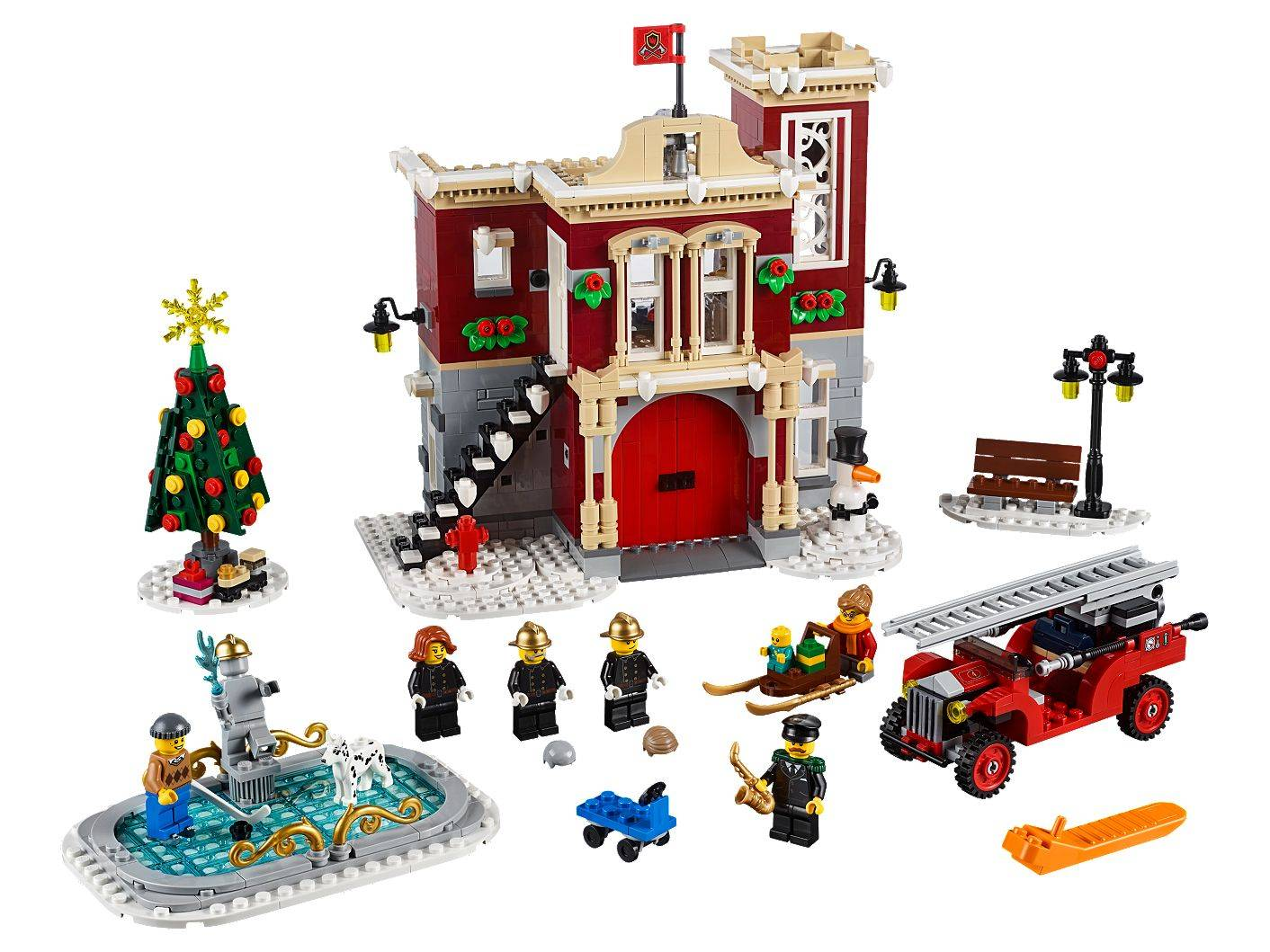 LEGO Winter Village Fire Station 10263