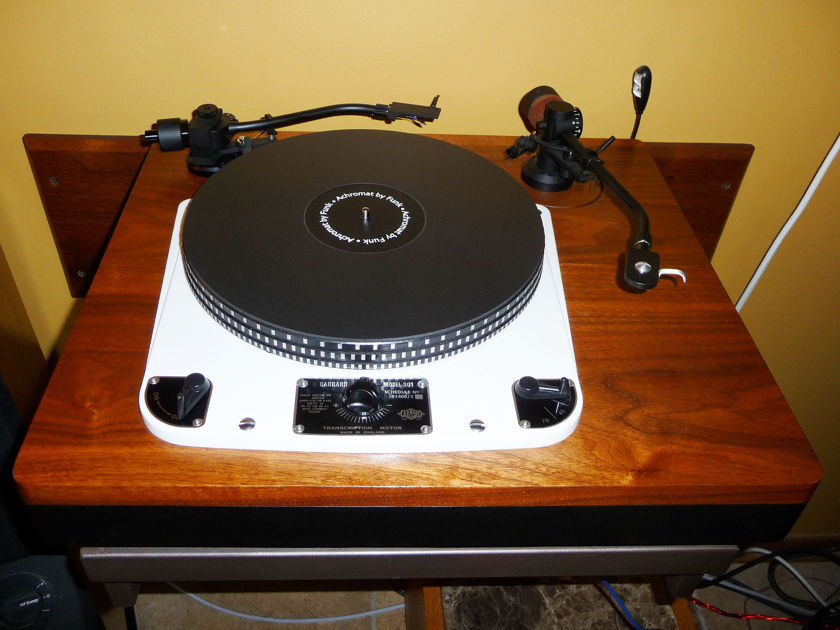 Garrard 301 New Custom  Plinth- Two Arms!