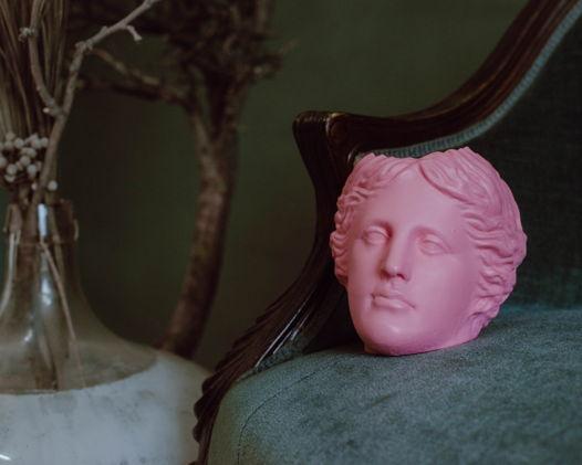 Кашпо Венера нежно-розовая