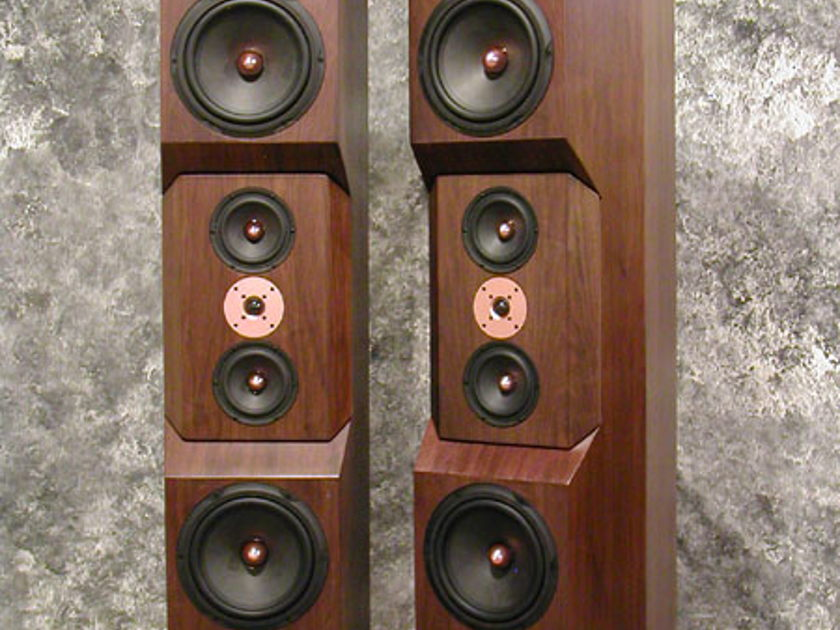 Tyler Acoustics D10's in dark walnut!