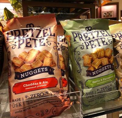 Pretzel Cheddar Ale Nuggets