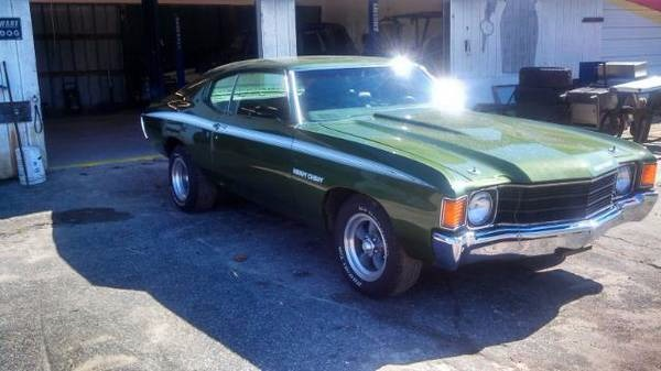 1972 Chevrolet Chevelle For Sale | Clasiq