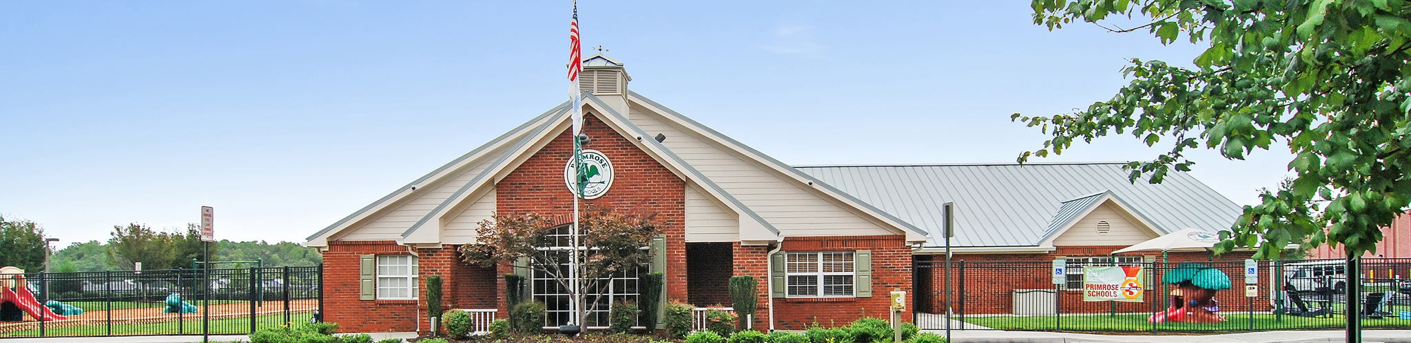 Exterior of a Primrose School of Swift Creek