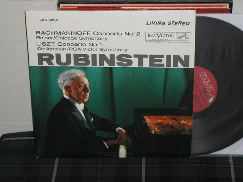 Rubenstein/Reiner/CSO - Rachmaninoff Cto 2 RCA LSC 2068 side dog