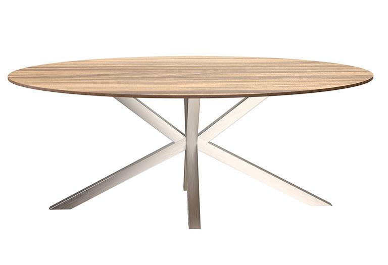 RVS Tafelonderstel matrix ovalen tafel