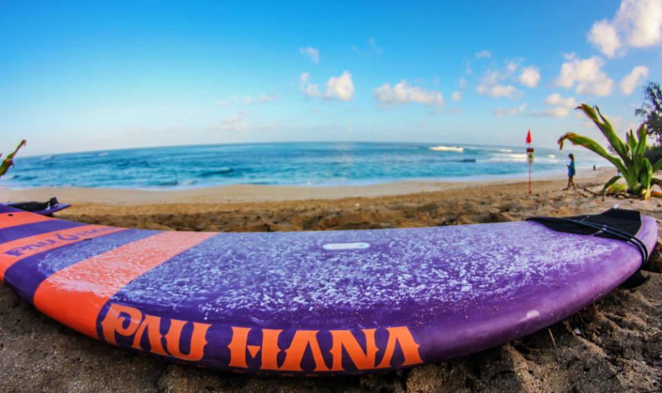 Carve Pau Hana sup board