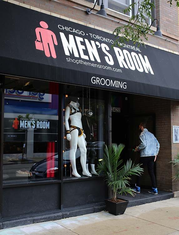 Chicago Gay Mens Store in Boystown - the Men's Room