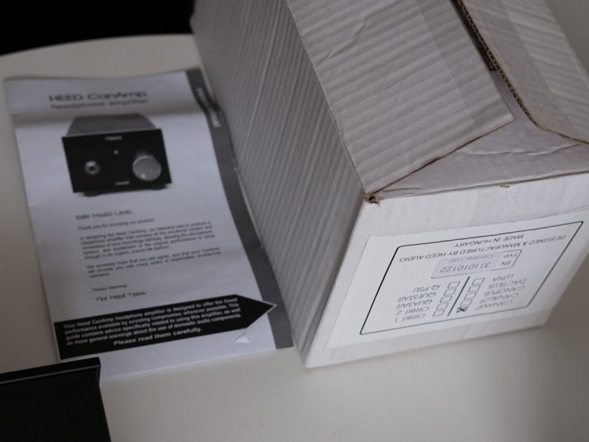 Heed Audio Canamp Headphone Amplifier