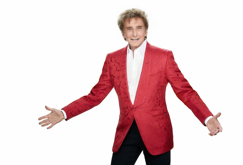 Barry Manilow with Orchestra artwork