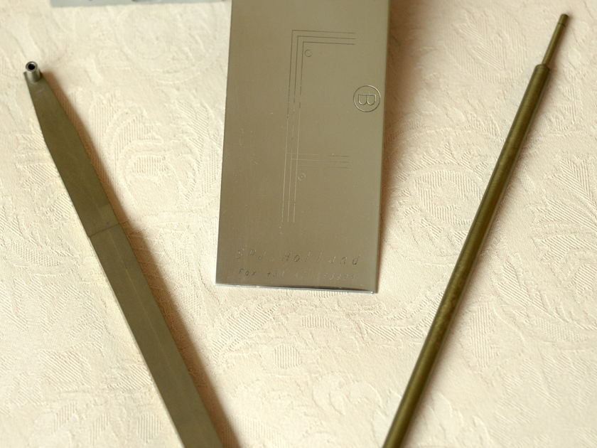 SpJ Tonearm & Matching Arm Base & Pedestal - Very Rare