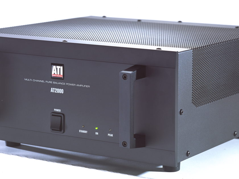 ATI AT2004 4 channel power amplifier