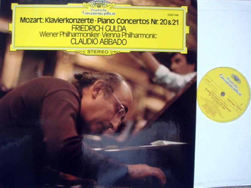 DG / Mozart Paino Concertos No.20 & 21, - GULDA/ABBADO/VPO, MINT!