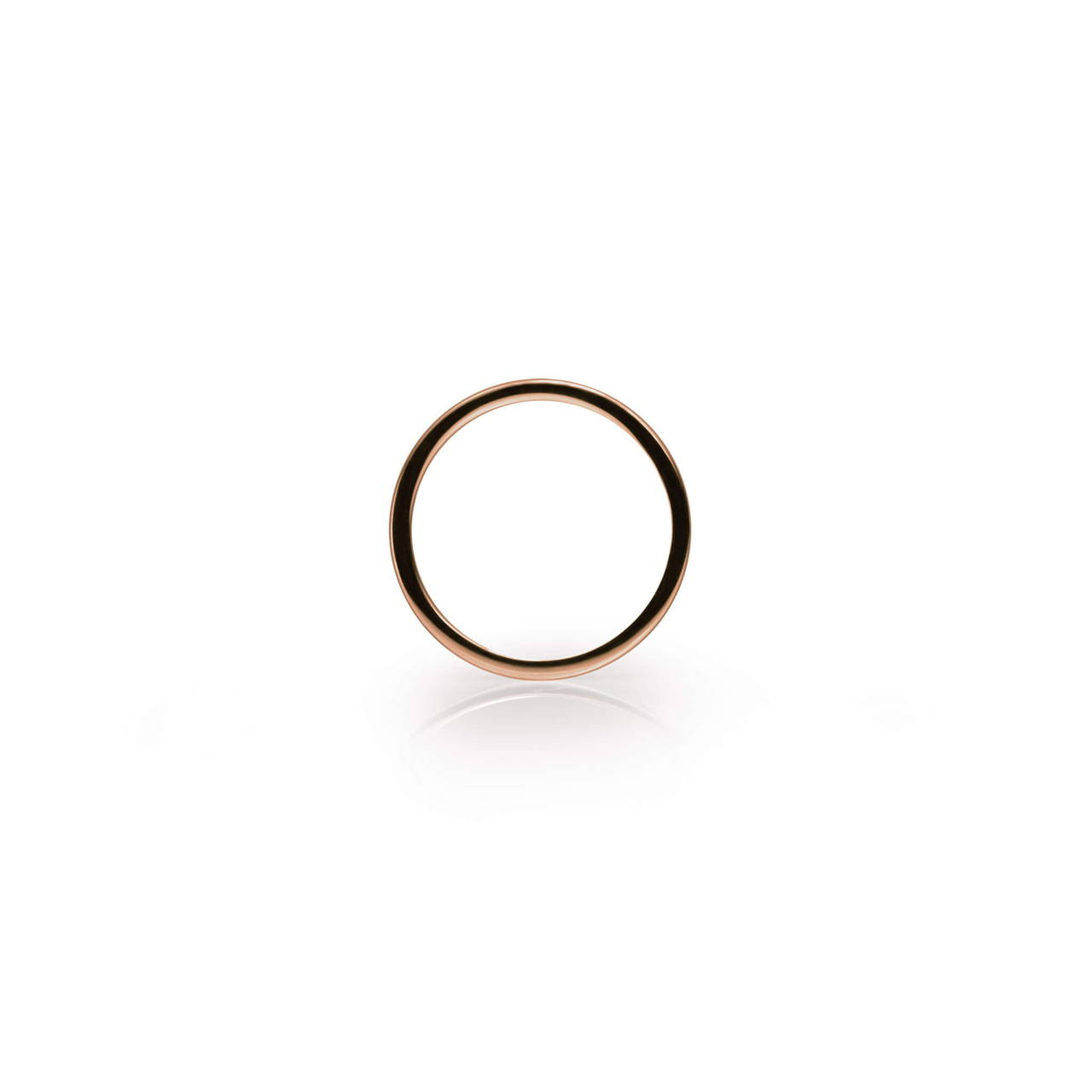 Round Ring in Copper