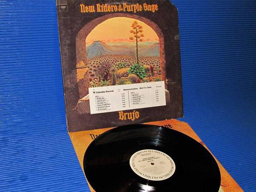 """NEW RIDERS OF THE PURPLE SAGE -  - """"Brujo"""" - CBS 1974 WLP w/DJ strip Hot Stamper"""