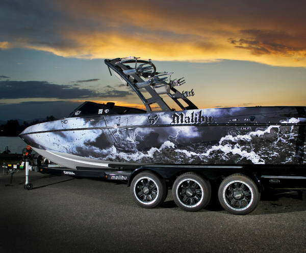 Vinyl Vehicle Wraps - Boat Wrap 2
