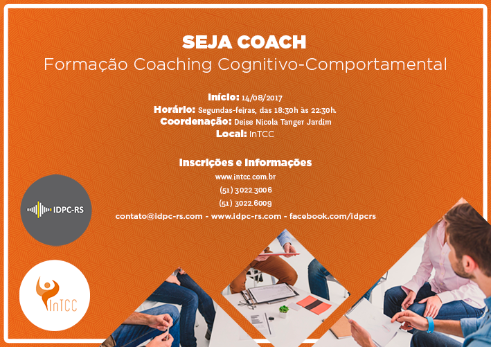 Formação em CCC – Coaching Cognitivo Comportamental / Cognitive Behavioural Coaching