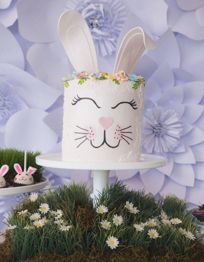 Our team of cake designers is at the ready to create your custom Easter Bunny cake. Call today to start your order at House of Clarendon in Lancaster, PA.