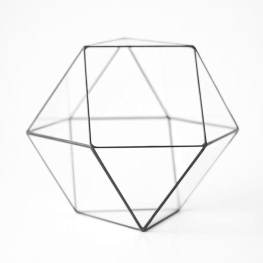 Стеклянная Форма Кубооктаэдр