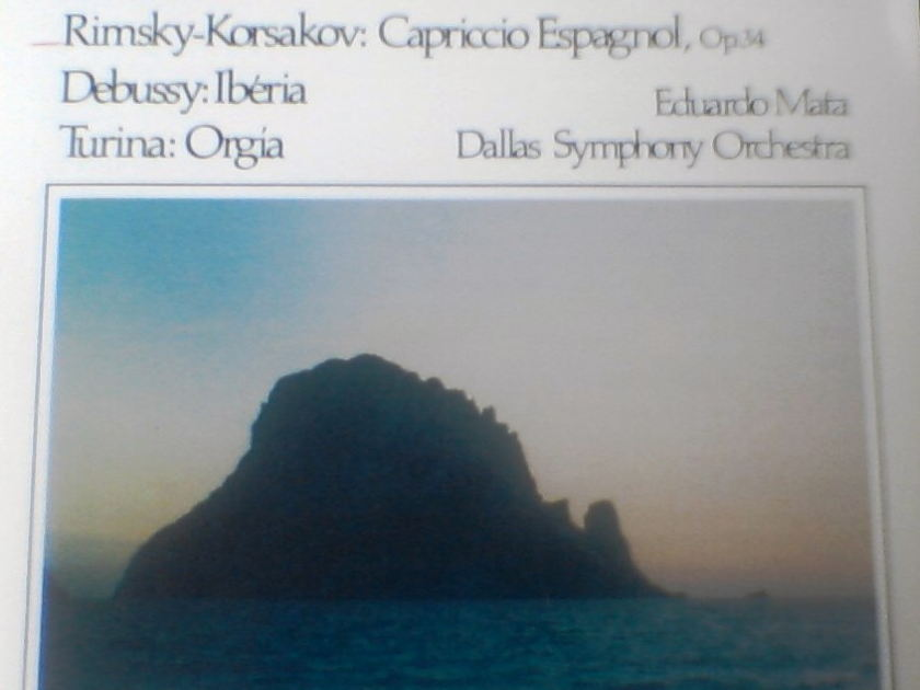 (2) older Telarc Classical CDs - Iberia + Ozawa from 1981...free ship