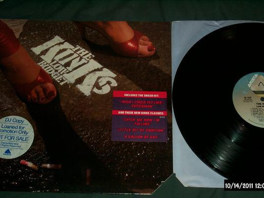 The kinks - Low Budget lp nm