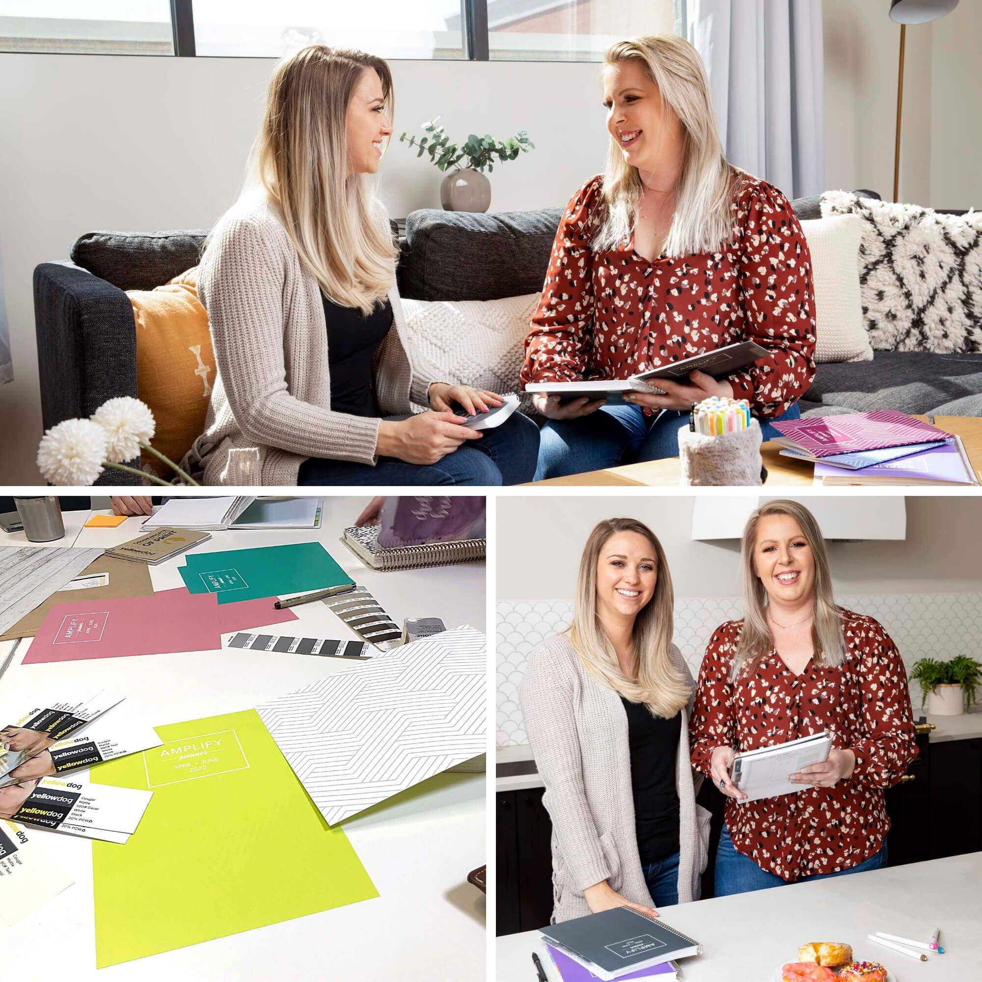 Chelsea & Raeanne CEOs of Amplify Planner