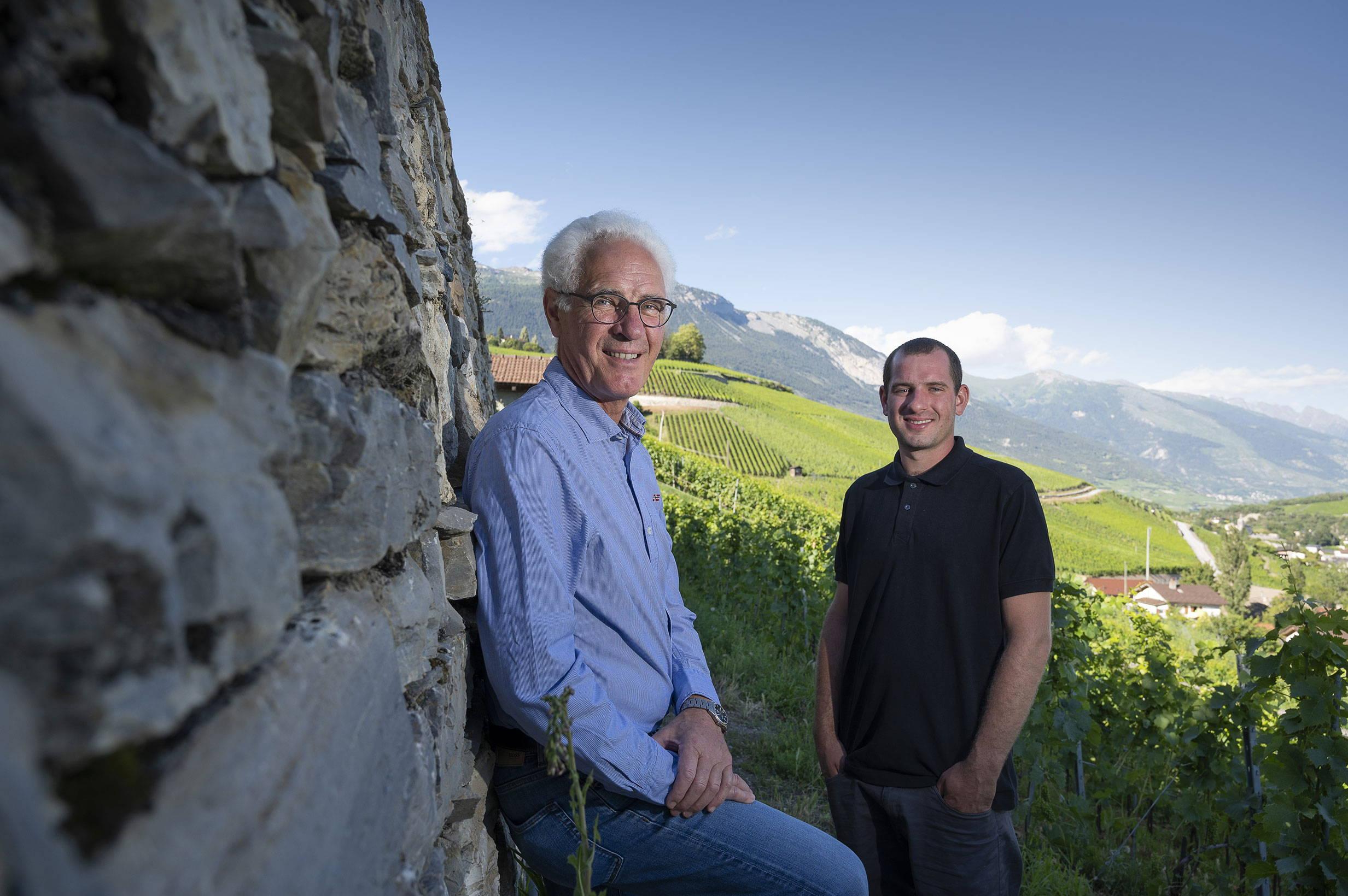 Maurice et Adrien Zufferey