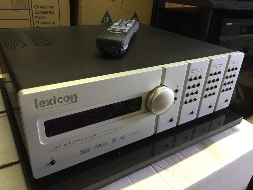 Lexicon MC-12 Pre/Processor - NICE!