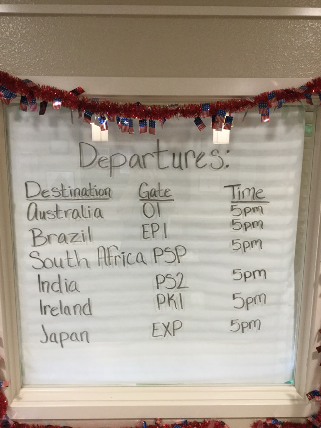 Celebrating Cultures - Gate Departures