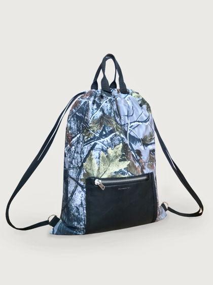 Рюкзак из плащевки - мембраны на кулиске.