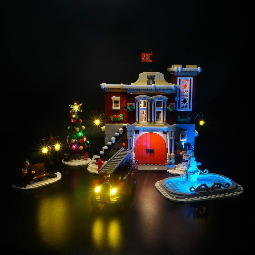 LEGO Winter Village Fire Station 10263 Light Kit