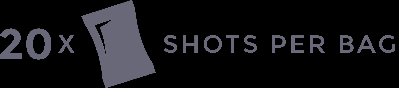 30x Shots per bag
