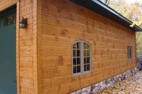 Channel Rustic Adze Siding Homestead Timbers