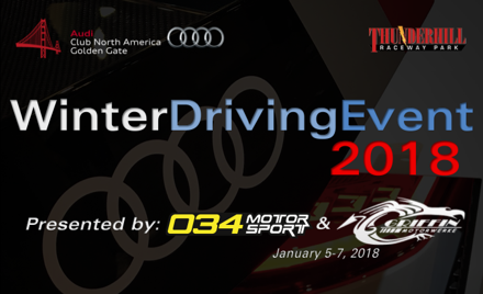 Winter Driving Event 2018 HPDE