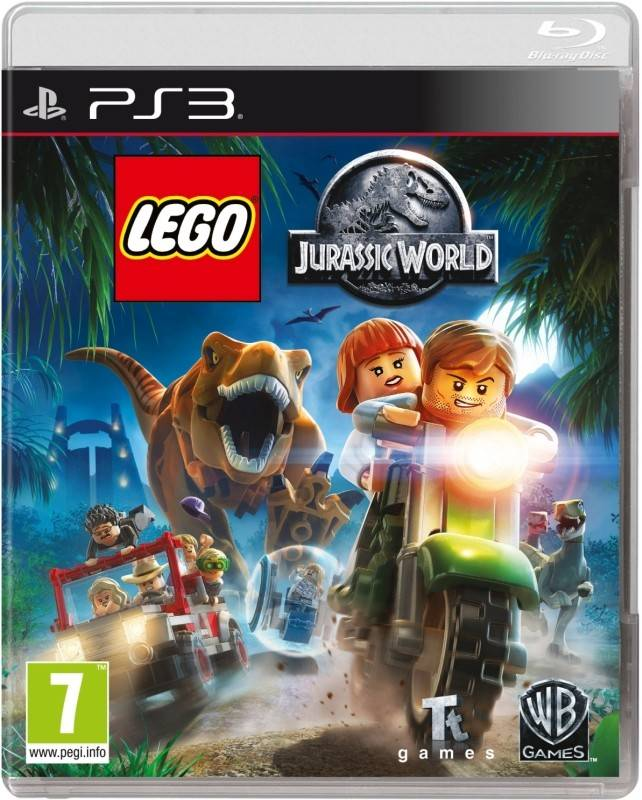 The LEGO Jurassic World