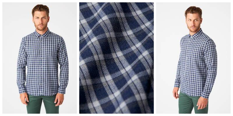 Colton Single Pocket Flannel Shirt