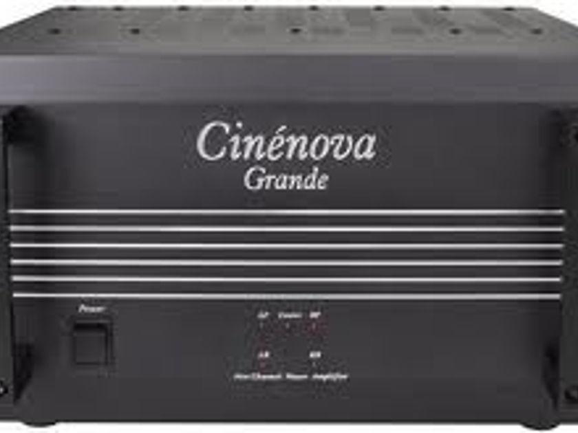 Earthquake Cinenova Grande 5 channel amplifier brand new