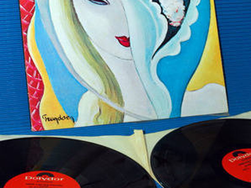 "DEREK & THE DOMINOS -  - ""Layla & Other Assorted Love Songs"" -  Polydor 1972 2 LP's"