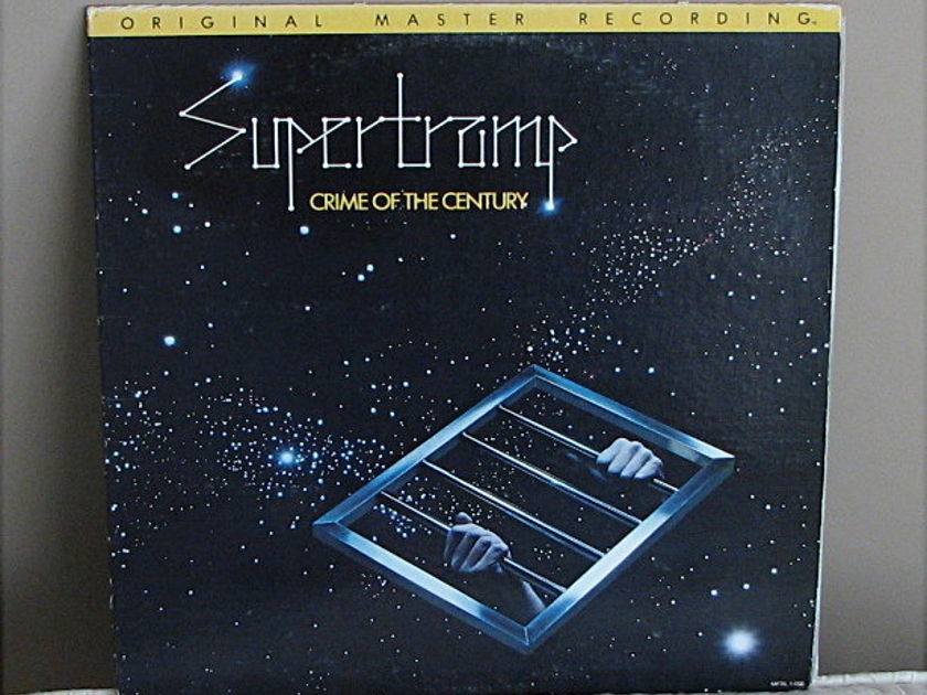 "Supertramp ""Crime of the Century"" - MFSL - LP - $39.95 includes shipping !"