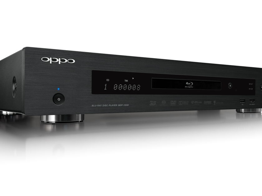 Oppo Digital BDP-103d Darrbee Edition Blu-ray Player